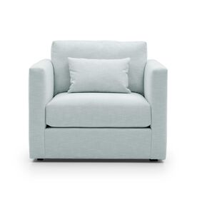HAYWOOD CHAIR, Performance Textured Linen - SKY BLUE, hi-res
