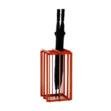 HASTINGS UMBRELLA STAND - VERMILLION, , hi-res