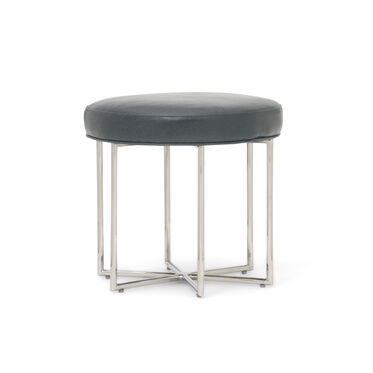 ASTRA LEATHER PULL-UP STOOL, MONT BLANC - WOLF, hi-res