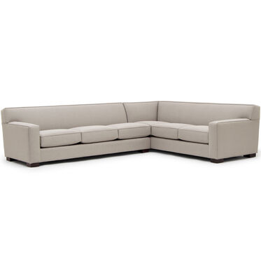 JEAN LUC LEFT SECTIONAL, RIDLEY - PEWTER, hi-res