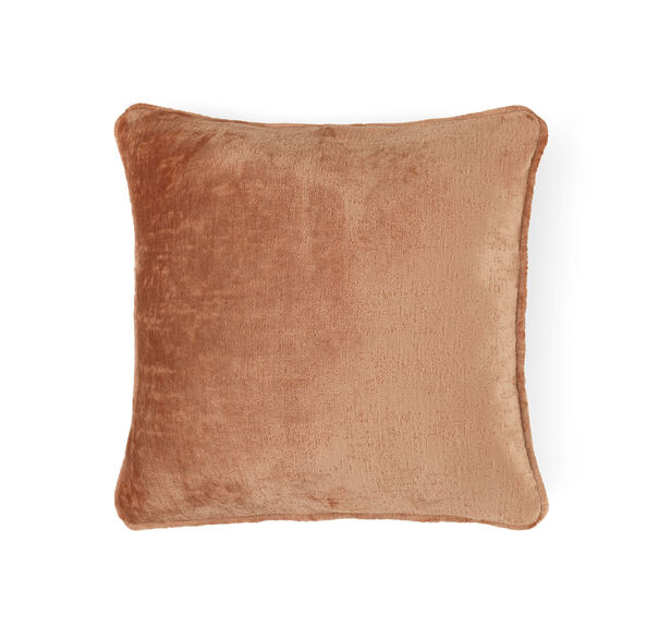 "CHENILLE 17"" X 17"" WELT ACCENT PILLOW, INDIE - BLUSH, hi-res"