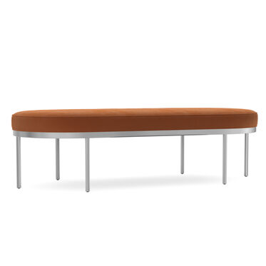 COLBURN COCKTAIL OTTOMAN, VIVID - TERRACOTTA, hi-res