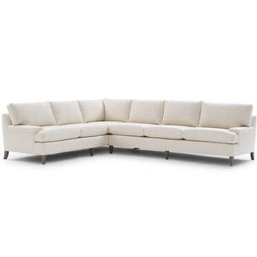 COLTON RIGHT SECTIONAL, WORTH - CREAM, hi-res