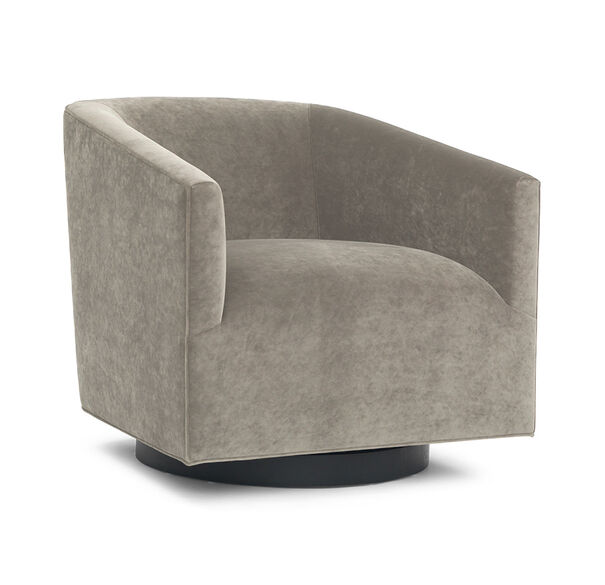 Cooper Swivel Chair, BOULEVARD - TAUPE GRAY, hi-res