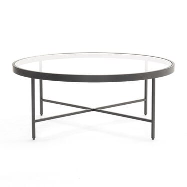 VIENNA ROUND COCKTAIL TABLE - PEWTER, , hi-res