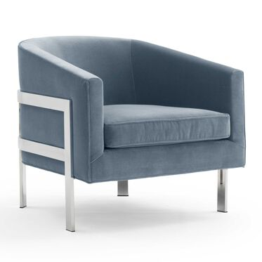 AVERY CHAIR, LINLEY - DELFT BLUE, hi-res