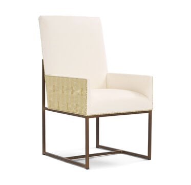 GAGE TALL ARM DINING CHAIR, TERRACE - ECRU, hi-res