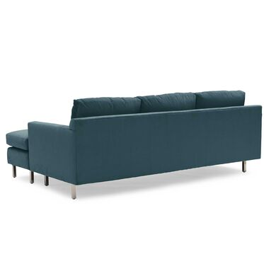 HUNTER STUDIO NO WELT 85 RIGHT CHAISE SECTIONAL, PIPPIN - TEAL, hi-res