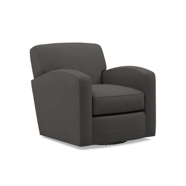 ELLIS SWIVEL CHAIR, RIDLEY - CHARCOAL, hi-res