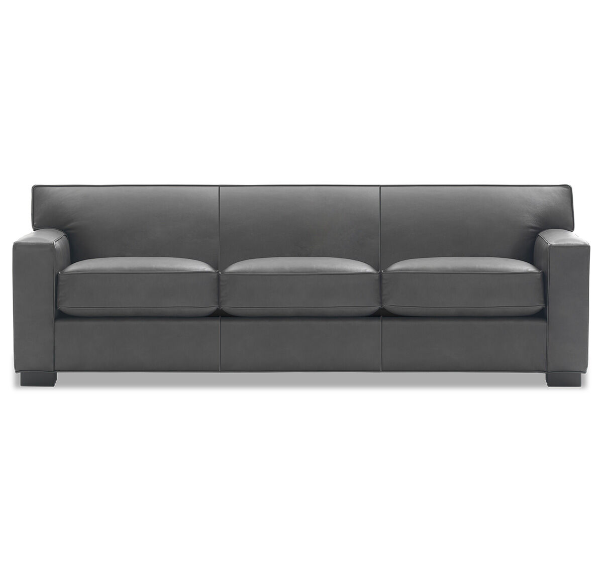 JEAN LUC LEATHER SOFA, MANCHESTER   GRAPHIT, Hi Res