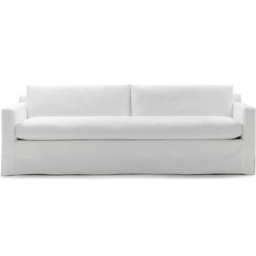 HUNTER LONG SLIPCOVERED SOFA, , hi-res