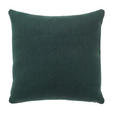 "LINEN 20"" X 20"" ACCENT PILLOW, SIMONE - EVERGREEN, hi-res"