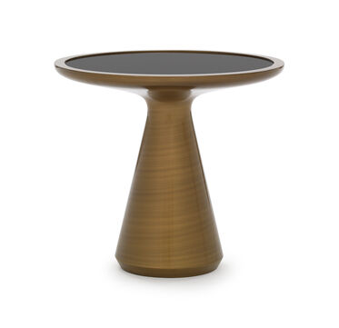 ADDIE SIDE TABLE - BRONZE, , hi-res