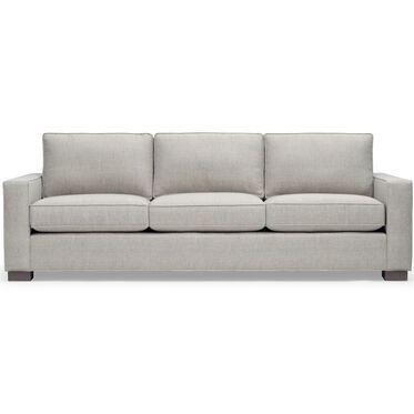CARSON SOFA, Sunbrella Performance Textured Two-Tone Linen - SILVER                             , hi-res