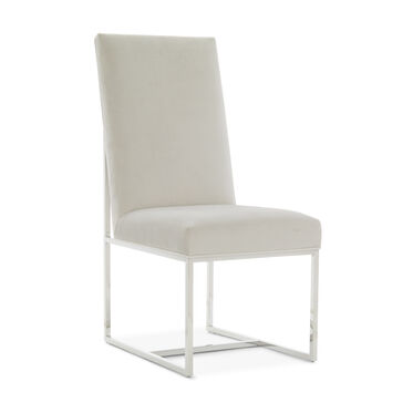 GAGE TALL SIDE  DINING CHAIR, PIPPIN - SILVER, hi-res