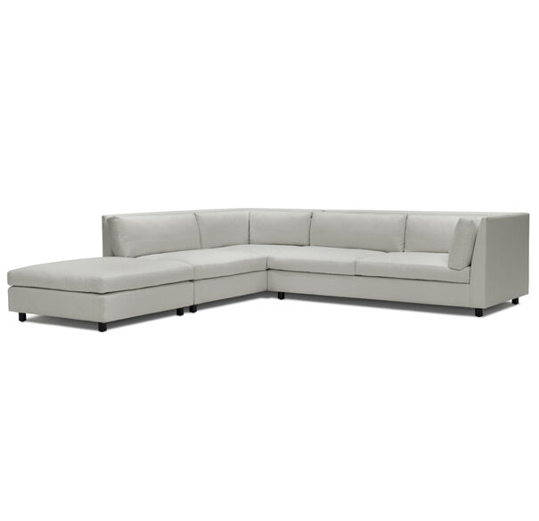 FRANCO LEFT SECTIONAL SOFA, TERRACE - PEWTER, hi-res