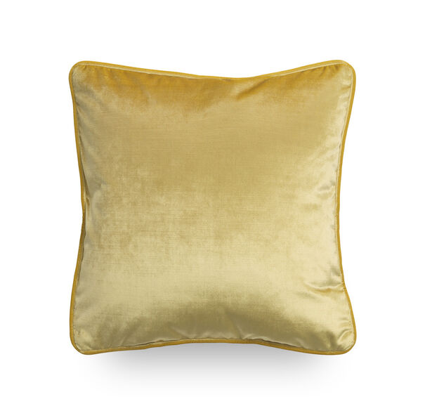 17 IN. SQUARE THROW PILLOW, EVERSON - CANARY, hi-res
