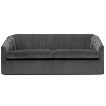 LANDRY CHANNEL TUFTED SLEEPER, PIPPIN - CHARCOAL, hi-res