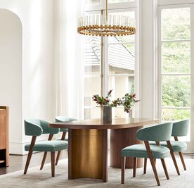 HAYES DINING TABLE, , hi-res