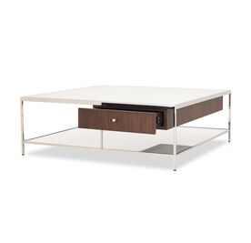 MANNING SQUARE COFFEE COCKTAIL TABLE - WALNUT, , hi-res