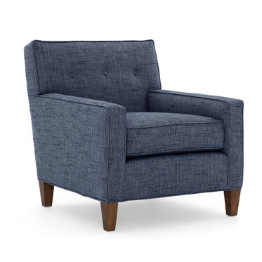 DEXTER CHAIR, HOLLINS - INDIGO, hi-res