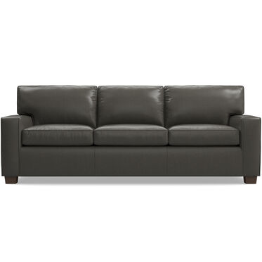 ALEX LEATHER SOFA, , hi-res