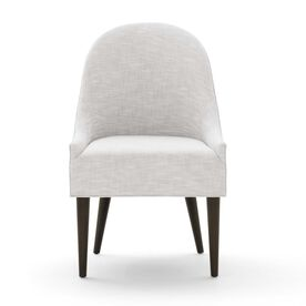 BELLA SIDE CHAIR, Performance Textured Linen - SILVER, hi-res
