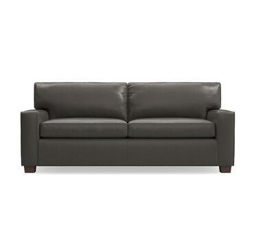 ALEX LEATHER LUXE QUEEN SLEEPER SOFA, , hi-res