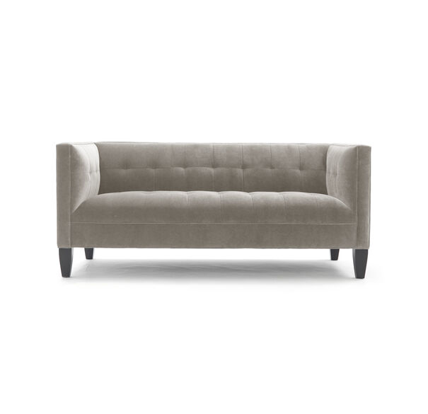 KENNEDY LOVESEAT, BOULEVARD - TAUPE GRAY, hi-res
