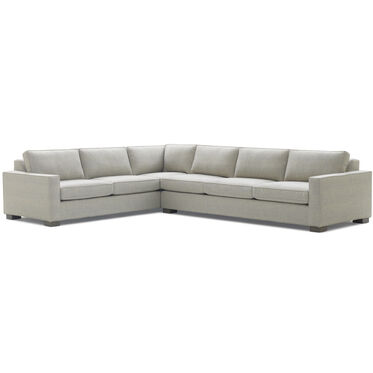 CARSON SECTIONAL SOFA, COSTA - SILVER, hi-res