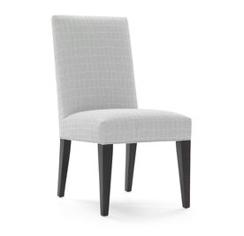 ANTHONY TALL SIDE DINING CHAIR, HADLEY - SILVER, hi-res