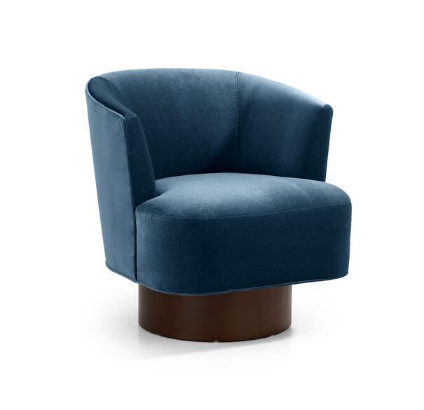 COSTELLO FULL SWIVEL CHAIR, BOULEVARD - DEEP BLUE, hi-res