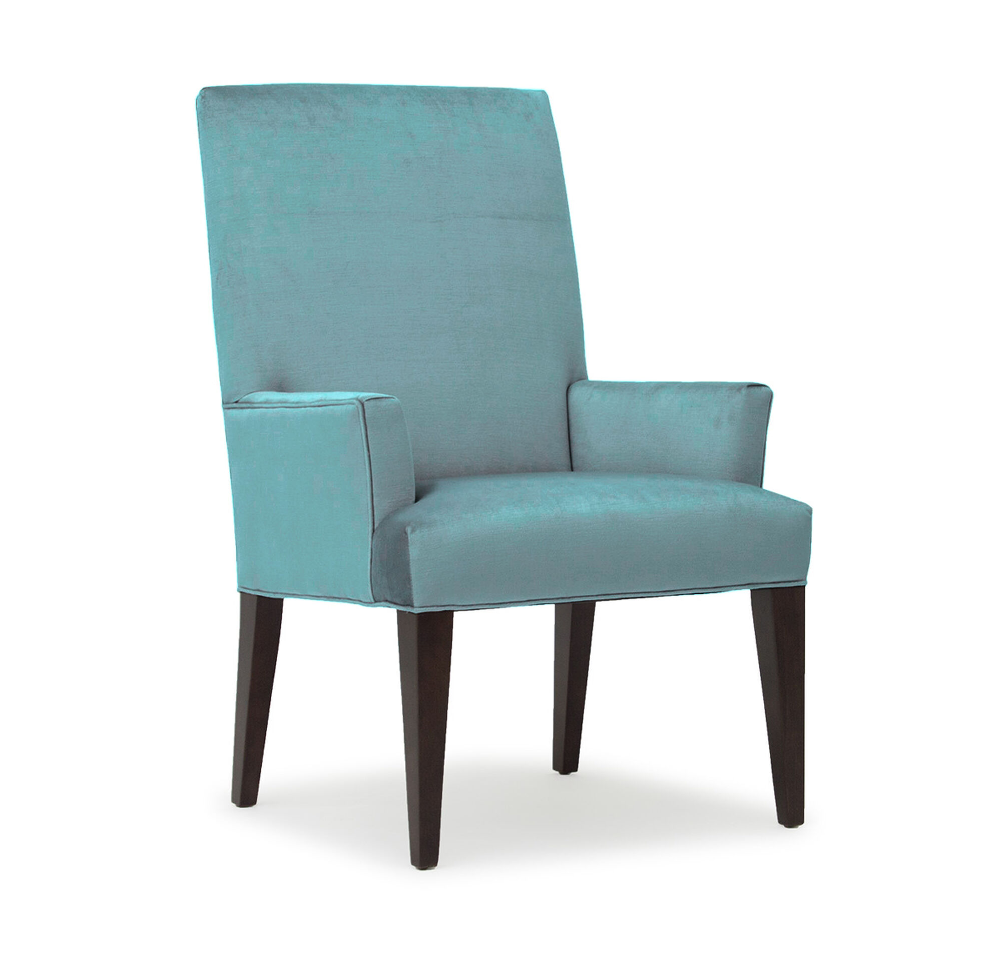 Teal Chair Anthony Tall Arm Dining Chair