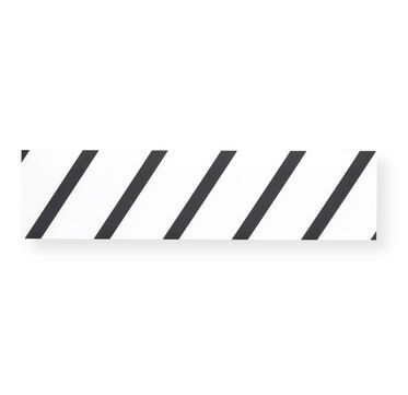 BLACK DIAGONAL WALL ART, , hi-res