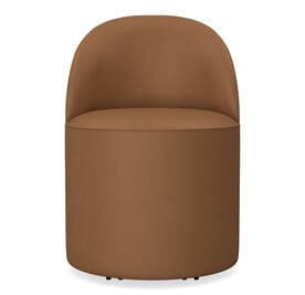 MARGAUX LEATHER SIDE CHAIR, Performance Tribeca - CHESTNUT, hi-res