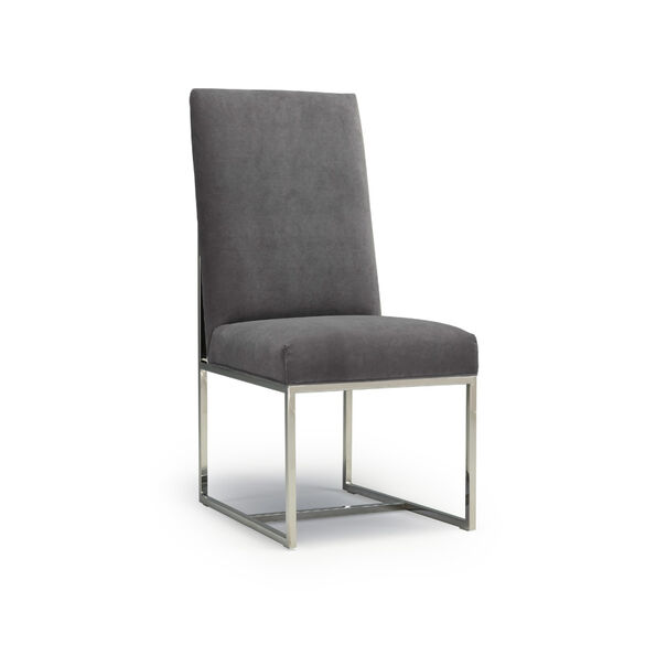 GAGE LEATHER TALL DINING CHAIR, , hi-res
