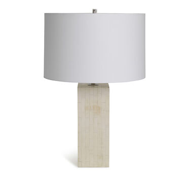 TULLY TABLE LAMP - BONE, , hi-res