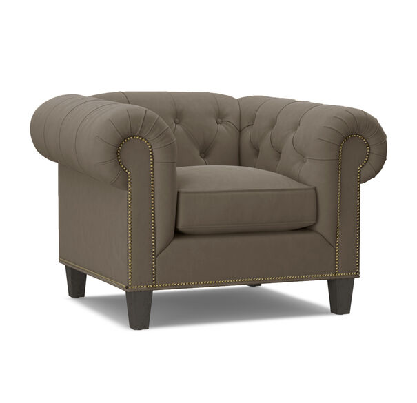 ADDISON CHAIR WITH NAILHEAD, BOULEVARD - CAFE, hi-res