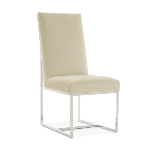 GAGE TALL SIDE  DINING CHAIR, PIPPIN - CREAM, hi-res