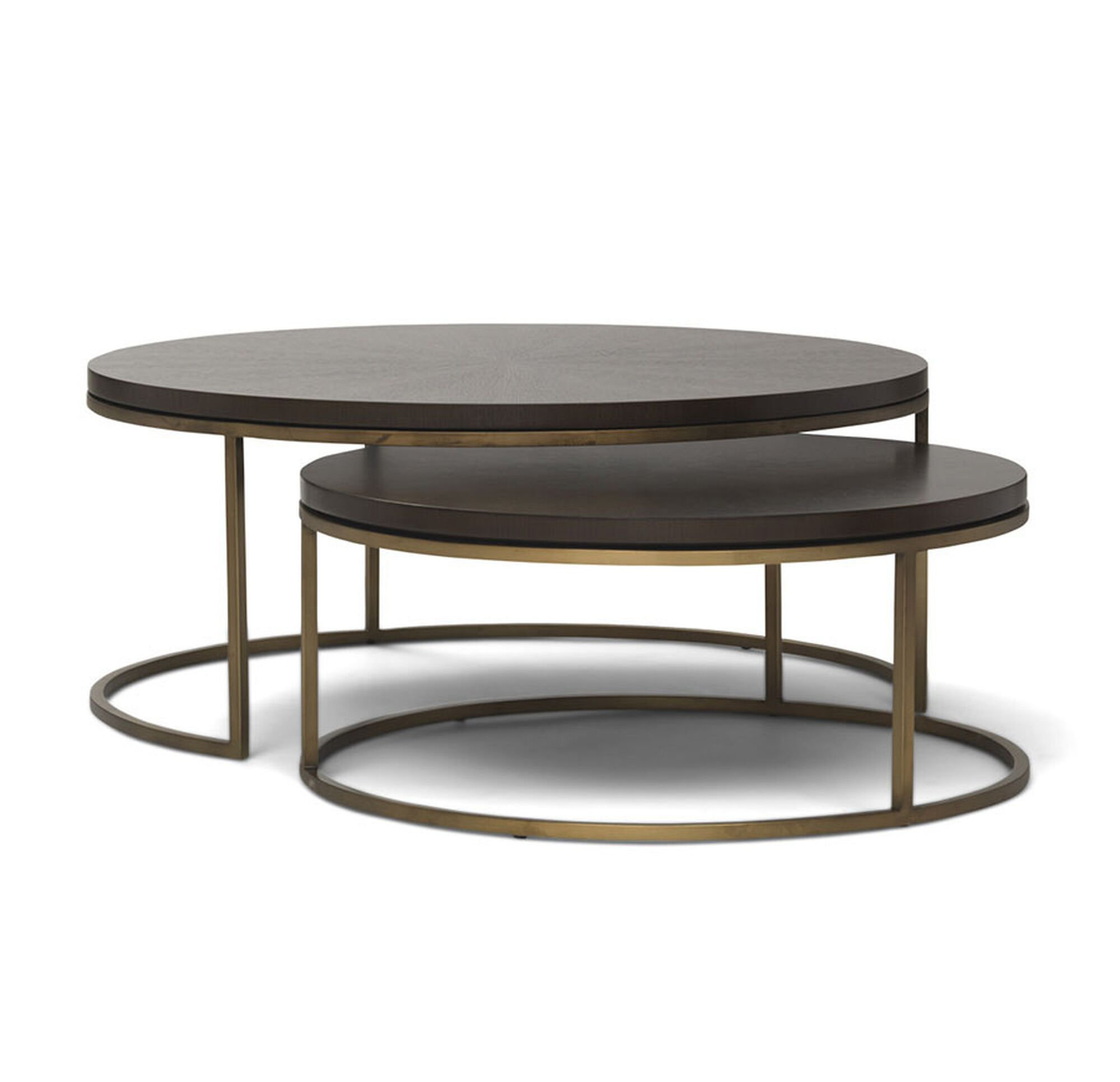 BASSEY NESTING COCKTAIL TABLE - Nesting table with drawer