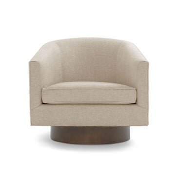 BIANCA FULL SWIVEL CHAIR, DUNHAM - FLAX, hi-res