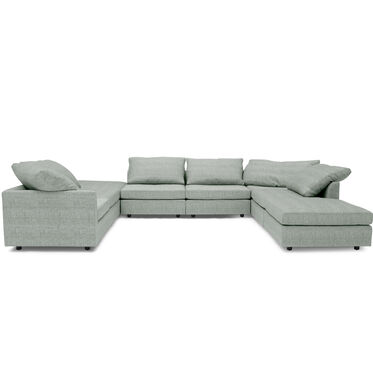BIG EASY 8-PC SECTIONAL, COSTA - SKY BLUE, hi-res