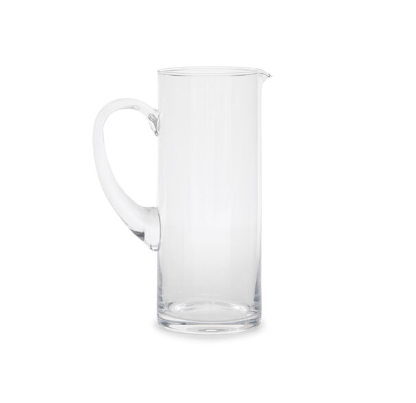 CLEAR GLASS PITCHER, , hi-res