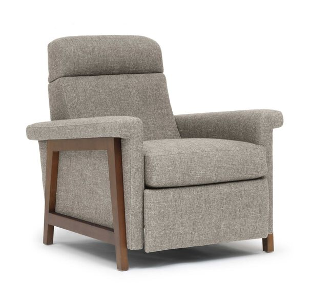 ARLEN RECLINER, HOLLINS - DARK TAUPE, hi-res