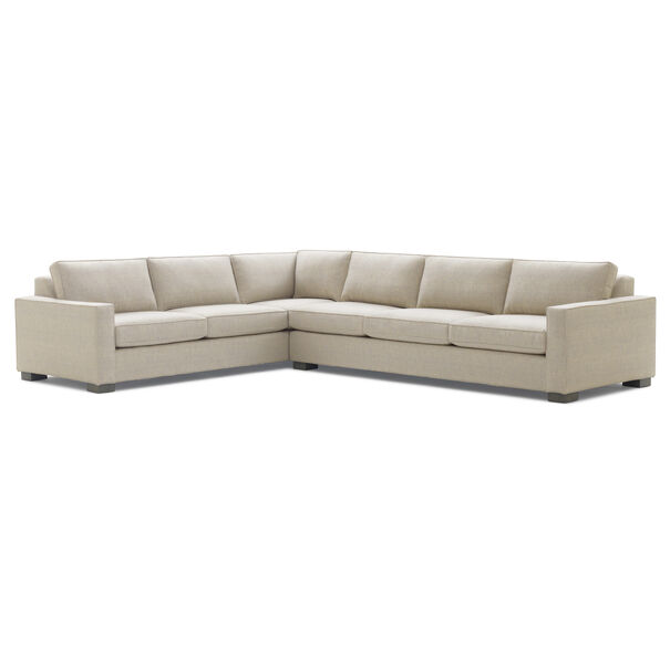 CARSON SECTIONAL�SOFA, COSTA - TAUPE, hi-res