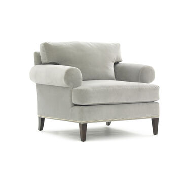 SMITH ARM CHAIR, AVIGNON - PEWTER, hi-res