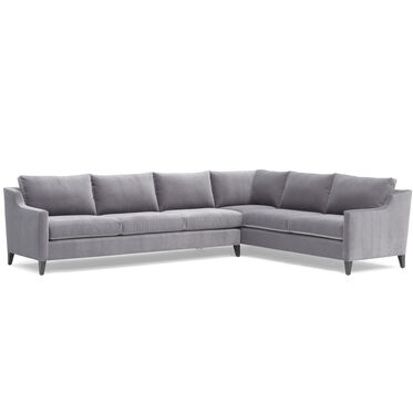 GIGI RIGHT SECTIONAL, BOULEVARD - LIGHT GREY, hi-res