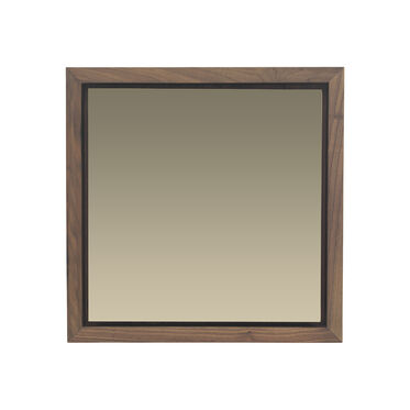 WALNUT SMOKY LARGE MIRROR, , hi-res