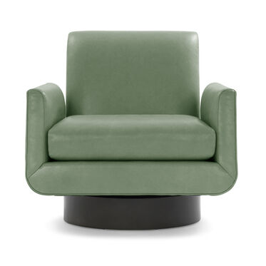 SUPERNOVA LEATHER FULL SWIVEL CHAIR, MONT BLANC - MEDITERRANEAN, hi-res