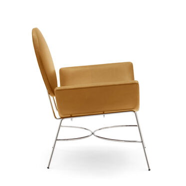 ELROY LEATHER CHAIR, MONT BLANC - FAWN, hi-res